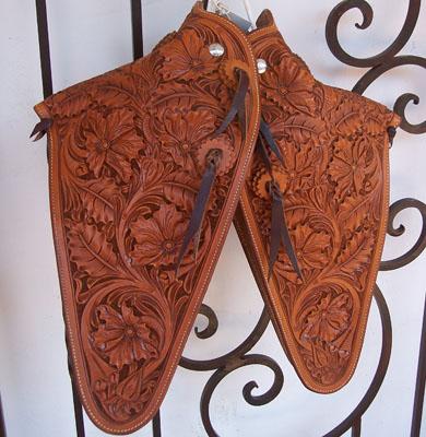 Leather Tapadero Patterns 12